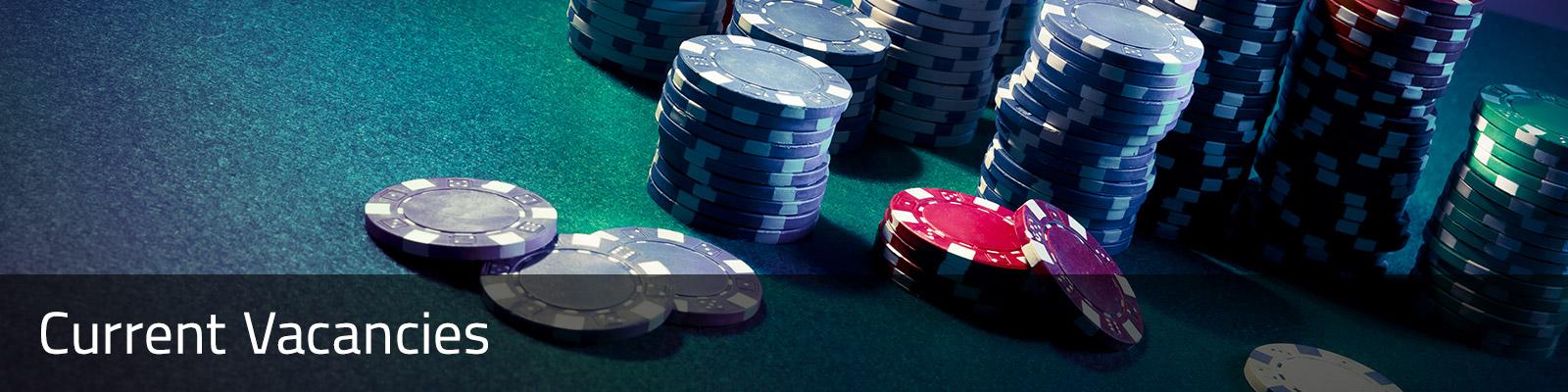casino jobs vacancies